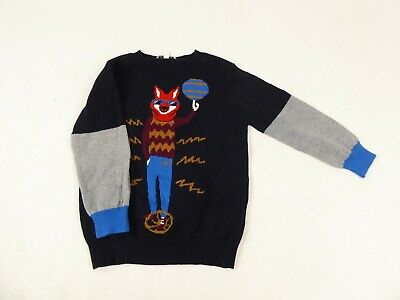 Little Marc Jacobs Boys Graphic Long Sleeved Jumper Age 3 Years