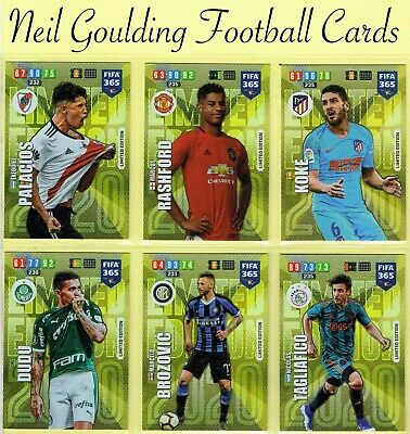 Panini FIFA 365 2020 [2019-20] ☆☆☆☆☆ LIMITED EDITION ☆☆☆☆☆ Football Cards