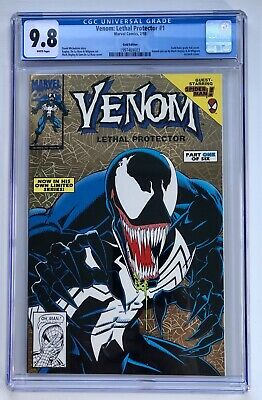 Venom: Lethal Protector #1 Gold Edition Cgc 9.8 Near Mint Nm