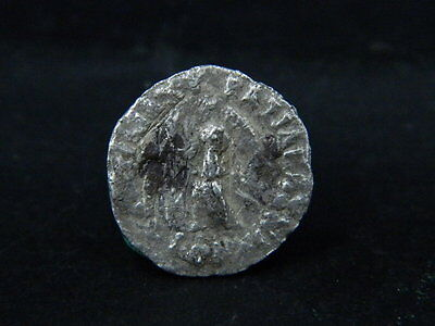 Ancient Silver Coin Bactrian 100 BC #S5980