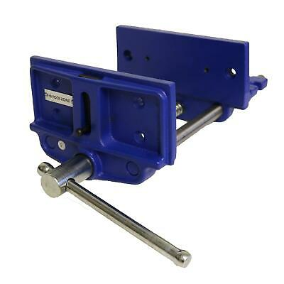 """7"""" Bench Vice Wood Working Clamp Carpenters Carpentry Vice Clamping Vise"""