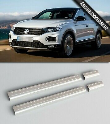 VW T-Roc Stainless Sill Protectors / Kick Plates