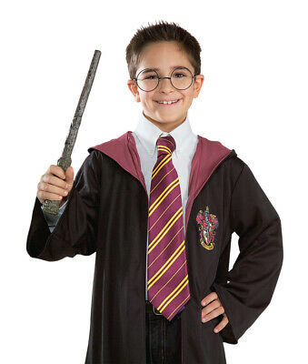 Harry Potter Tie Hogwart Book Week Gryffindor Wizard cravate officielle Poudlard