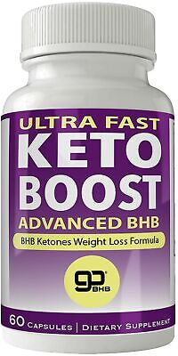 Ultra Fast Keto Boost Advanced Ketones Natural BHB Ketogenic Weight Loss Pill...