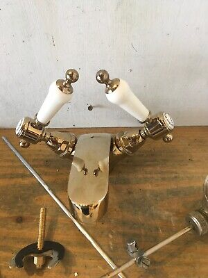 Refurbished Brass Mono Lever Taps - Made By Heritage Bathrooms Quality T64