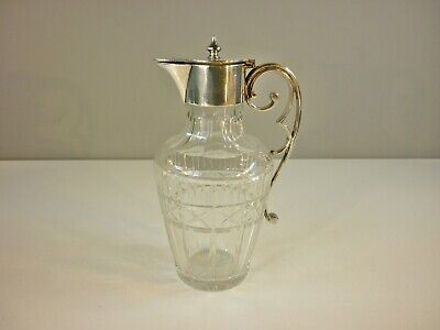 Antique Bradley & Blake Cut Glass Claret Jug