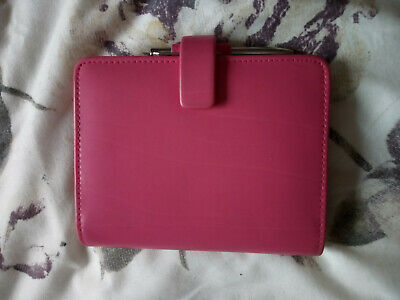 Pink Filofax Pocket Size Personal Organiser