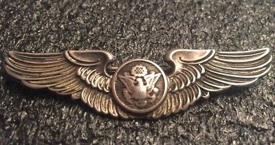 Amico - Ww2 Era Us Army Air Corp Enlisted Crew Wings - Sterling - 3""