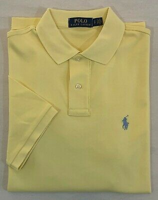 NWT Polo Ralph Lauren Pony Soft Touch Interlock Short Sleeves Classic Shirt S