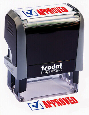 "Trodat ""APPROVED"" Self Inking Rubber Stamp"