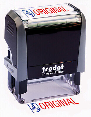 "Trodat ""ORIGINAL"" Self Inking Rubber Stamp"