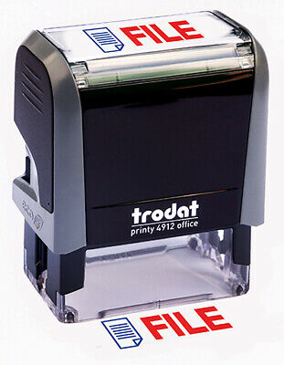 "Trodat ""FILE"" Self Inking Rubber Stamp"