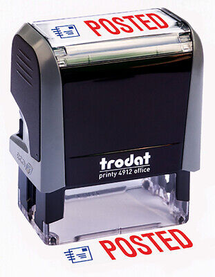 "Trodat ""POSTED"" Self Inking Rubber Stamp"