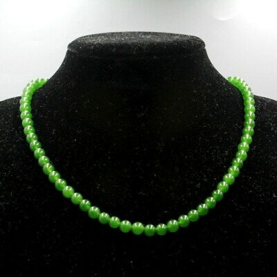 Unique Collection China Handwork Carving Jade Good Luck Beautiful Noble Necklace