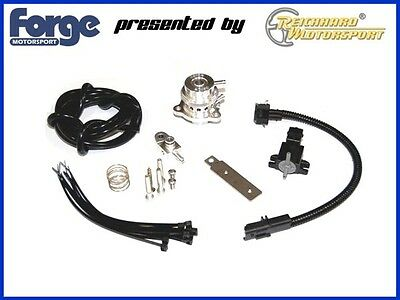 FORGE Blow Pop Off Ventil Kit Peugeot 207 307 308 THP