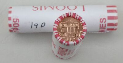 1 Rolle 50x USA 1 Cent Lincoln 2019 D unz.
