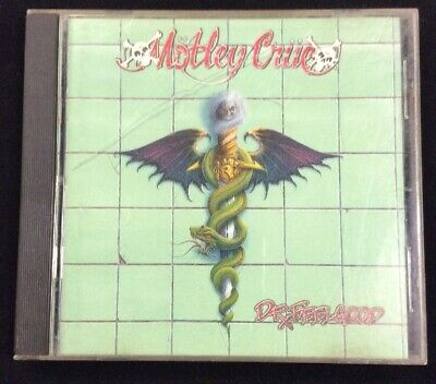 Motley Crue Dr. Feelgood CD 1989