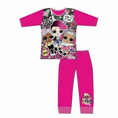 LOL Surprise Girls Pyjamas Sleepwear (Born to be bad) Ages 4 to 10 Years. New