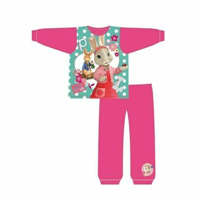 Girls Kids Peter Rabbit Pyjamas PJs Nightwear 18 months to 5 Years Pink. New