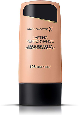 Max Factor Lasting Performance Liquid Foundation, 35 ml, 18 Honey Beige  may
