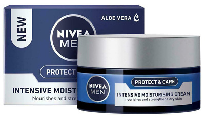 2 or 3 x NIVEA Men Originals Intensive Moisturising Cream, 50ml with Aloe Vera