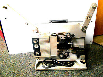 "Vintage RCA 1600 16mm Sound Movie Projector w/Somco 16mm 2"" f=1.6 Infarated Lens"
