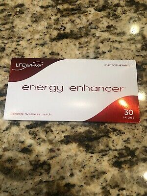 LifeWave NEW Energy Enhancer Patch 30 Patches -New/Sealed-Exp 2021