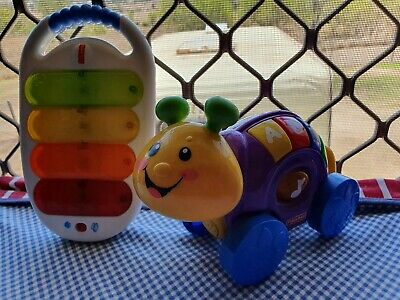 2005 Fisher Price Exciting Learning Toy For Toddlers Battery Operated+Bonus.