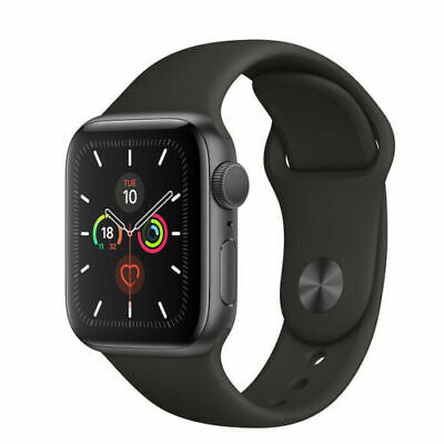 NEW Apple Watch SERIES 5 [40MM/44MM] AL Case Sport Band [GPS+Cellular] AUS STOCK