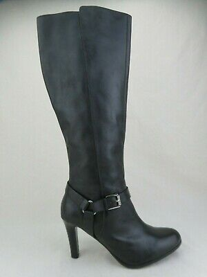 LAUREN RALPH LAUREN Bria Knee-High Black Sz 9 B Women Boots
