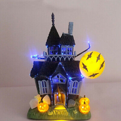 Halloween Prop Haunted House Glittered Table-Top Spooky Sound Light Up p2