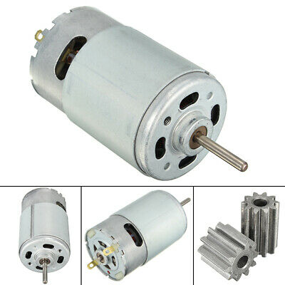12V 30000 RPM  Electric Motor Gear 10 Teeth for Kids Ride On Bike Car Toy UK