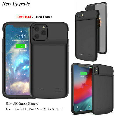 FR / Magnetic Battery Charger Case Power For iPhone 11 Pro Max X XS XR 6 6S 7 8