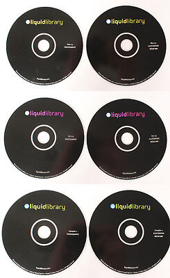 Liquid Library Royalty Free Stock Photography Photos 6-CDs Sampler 1+Oct/Nov '03