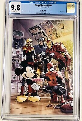 Marvel Comics 1000 - CGC 9.8 - D23 Variant - 1ST MICKEY MOUSE ON MARVEL COVER