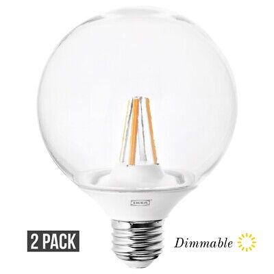 LEDARE LED bulb E14 400 lumen warm dimmingchandelier clear