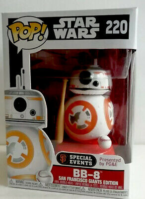 STAR WARS BB-8 SAN FRANCISCO GIANTS SPECIAL EDITION #220 *UK STOCK* FUNKO POP