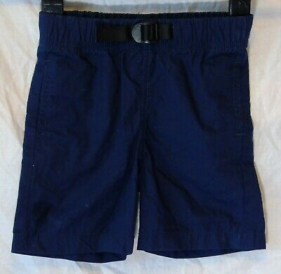Boys Gap Dark Navy Blue Faux Belted Adjustable Waist Chino Shorts Age 3 Years