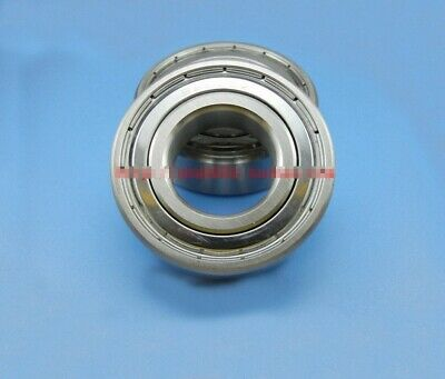 2pcs Stainless steel Metal Shielded Ball Bearing S6301ZZ S6301-2RS 12x 37 x 12mm
