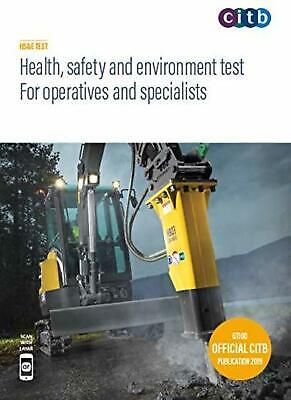 Health Safety and Environment Test for Operatives and Specialist CITB 2019