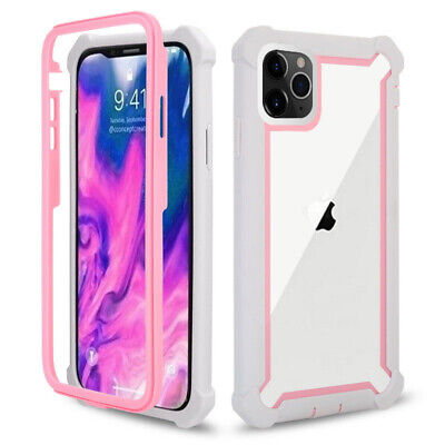 For iPhone 11 Pro XR XS MAX X 7 8 Clear Case Cover Shockproof Heavy Duty Hybrid