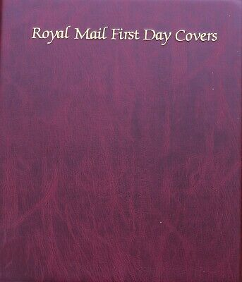 Royal Mail First Day Cover Album with 65 First Day Covers from 2.1.99 - 6.4.04