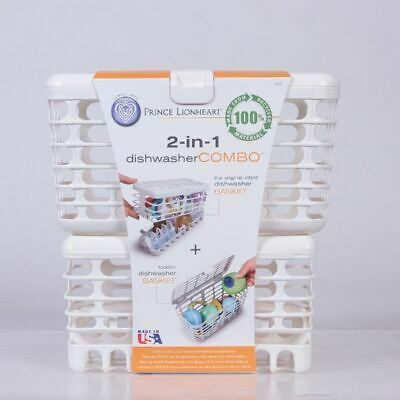Infant & Toddler Dishwasher Baskets Combo Baby Feeding Teats Dummies Sterilising