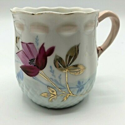 Antique Sweet Detailed Hand-painted Floral Mug Germany