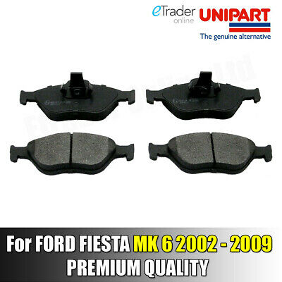 Ford Fiesta Mk6 2002-2009 Front Brake Pads Pad Set NEW Genuine Unipart Quality