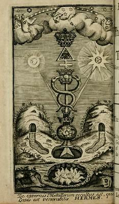 167 Old Alchemical Books & Manuscripts - Usb - Philosophy Occult Science Alchemy