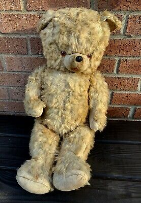 Large Size Early 1900's Teddy Bear circa 1925's