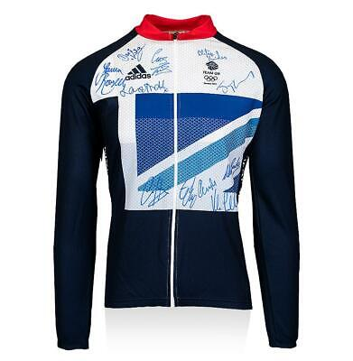 Team GB Signed London 2012 Olympic Cycling Jersey Autograph