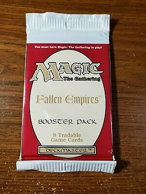 Mtg Fallen Empires Booster Pack Factory Sealed English