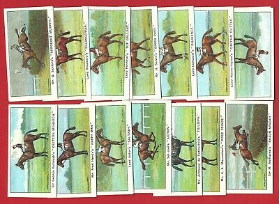 Horseracing Reprint Card Set - Boguslavsky - Winners Of The Turf  (Lg17)